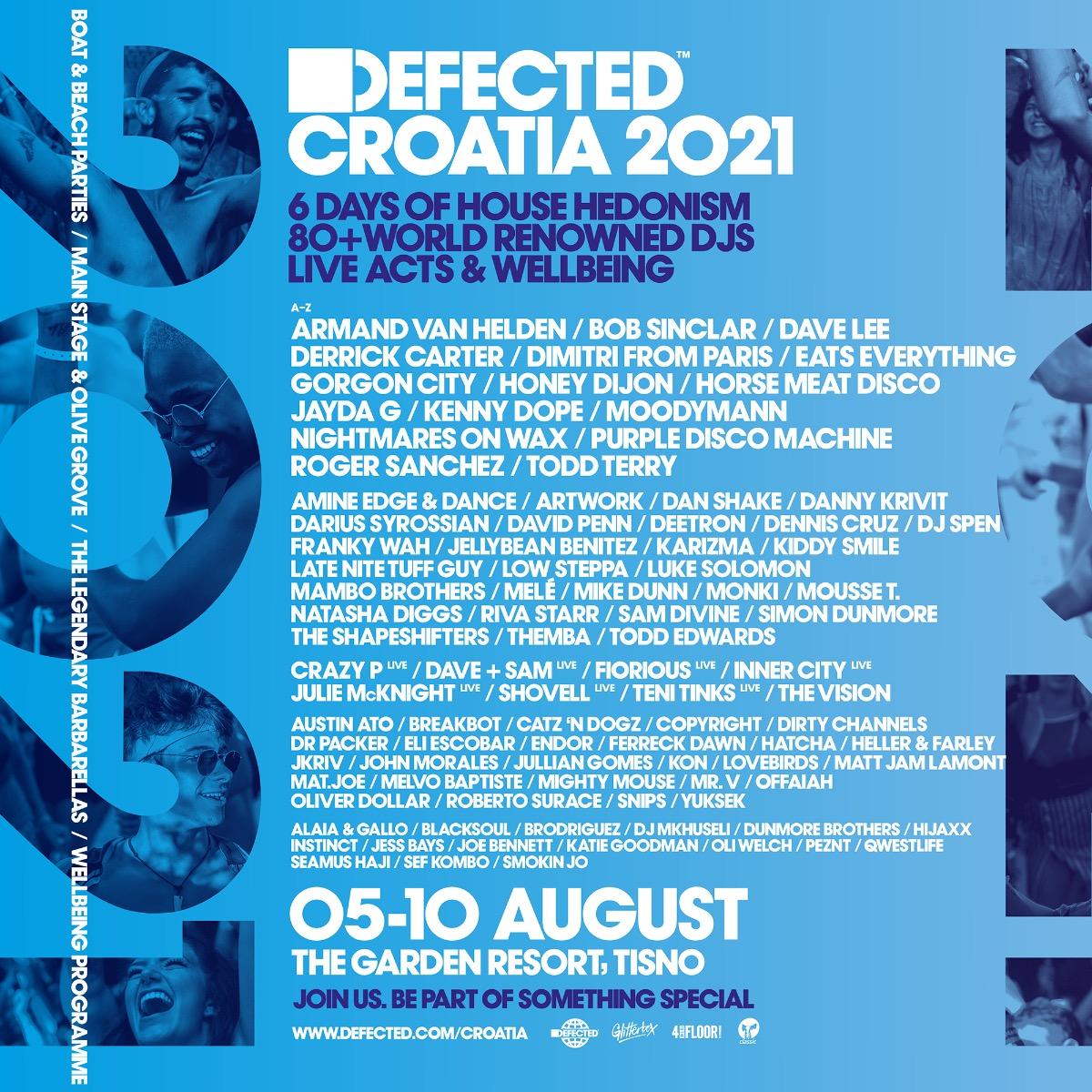 Defected Croatia 2021