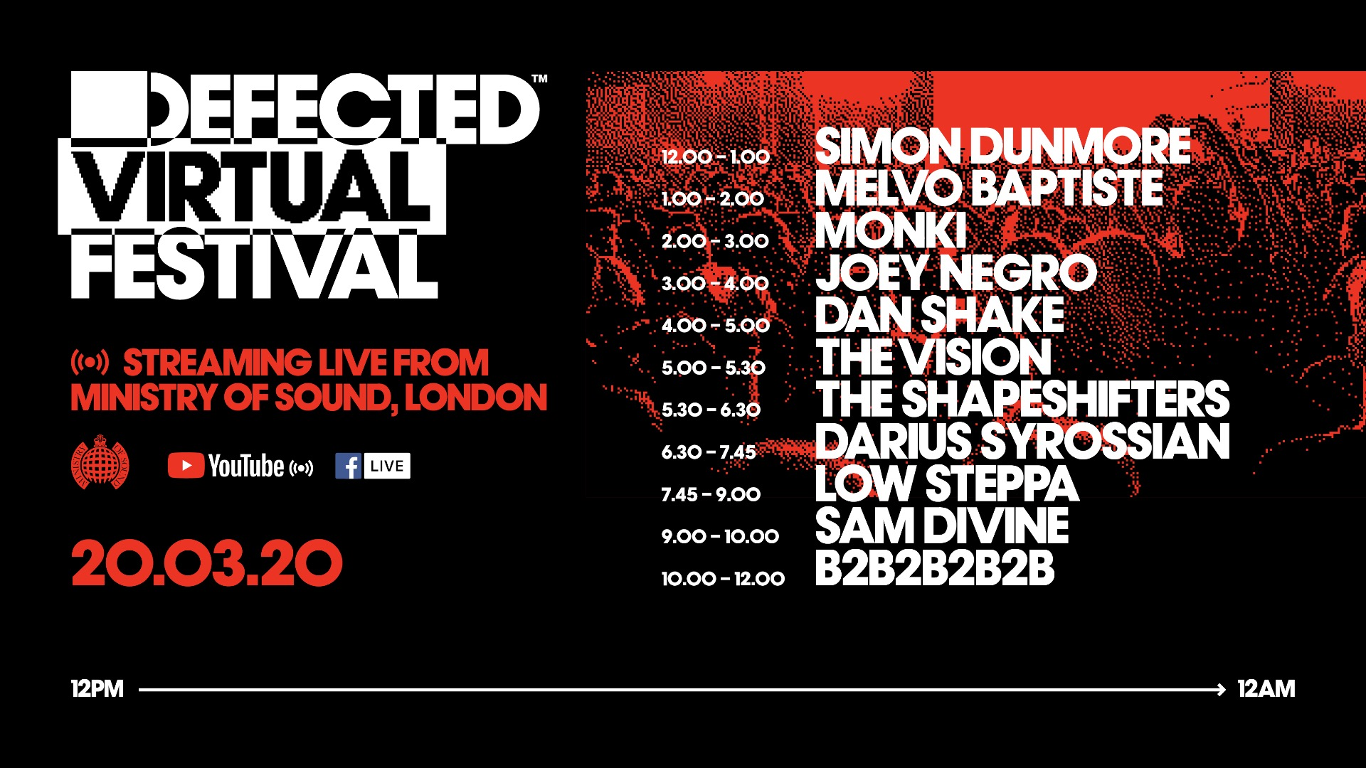 Image result for defected records virtual music festival