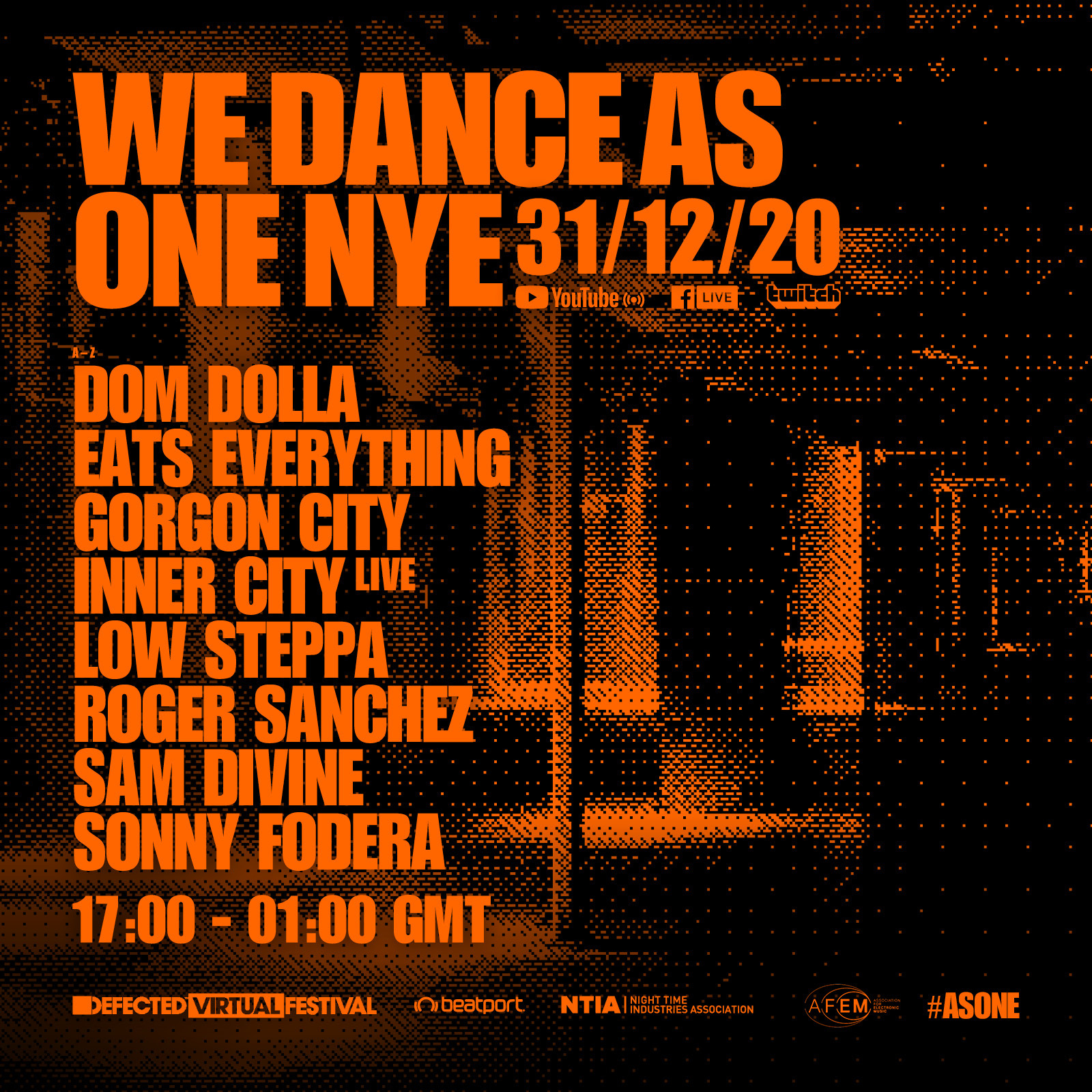 """Defected """"We Dance As One"""" New Year's Eve Livestream"""